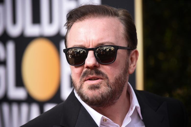 Ricky Gervais77th Annual Golden Globe Awards, Arrivals, Los Angeles, USA - 05 Jan 2020