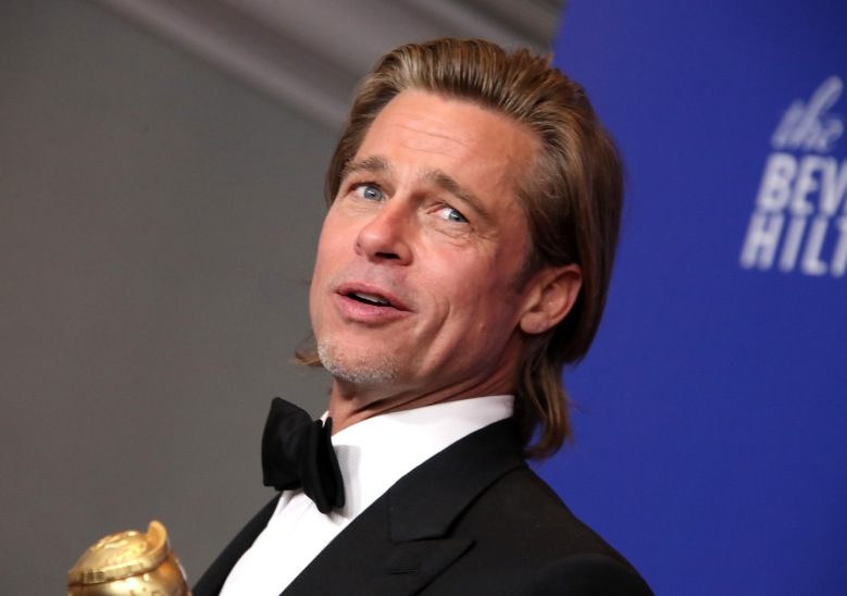 Brad Pitt - Best Performance by an Actor in a Supporting Role in any Motion Picture - Once Upon a Time In... Hollywood77th Annual Golden Globe Awards, Press Room, Los Angeles, USA - 05 Jan 2020