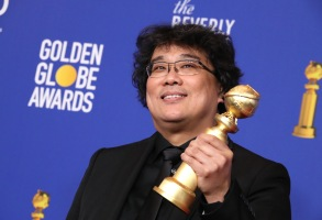 Bong Joon Ho - Best Motion Picture, Foreign Language - Parasite77th Annual Golden Globe Awards, Press Room, Los Angeles, USA - 05 Jan 2020