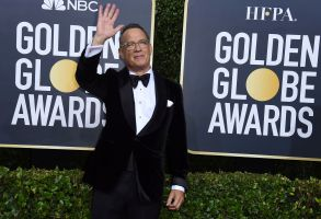 Tom Hanks arrives at the 77th annual Golden Globe Awards at the Beverly Hilton Hotel, in Beverly Hills, Calif77th Annual Golden Globe Awards - Arrivals, Beverly Hills, USA - 05 Jan 2020