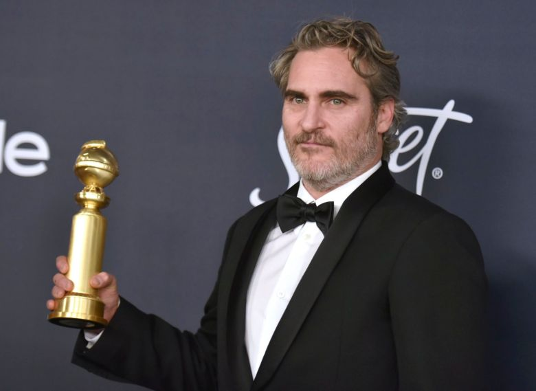 Joaquin Phoenix, winner of the award