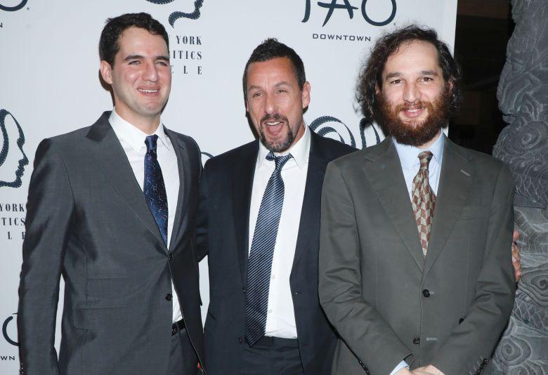 Ben Safdie, Adam Sandler and Joshua SafdieNew York Film Critics Circle Awards Gala, Arrivals, TAO Downtown, New York, USA - 07 Jan 2020