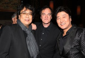 Bong Joon-Ho, Quentin Tarantino and Song Kang HoThe New York Film Critics Awards Gala - Inside, USA - 07 Jan 2020
