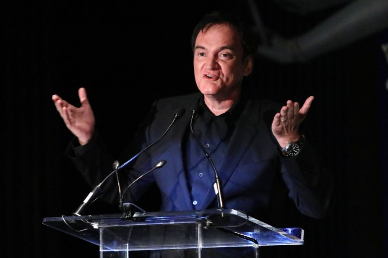Quentin TarantinoNew York Film Critics Circle Awards Gala, Inside, TAO Downtown, New York, USA - 07 Jan 2020