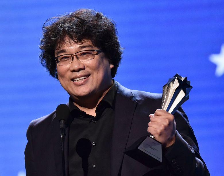 Bong Joon-Ho - Best Director - Parasite25th Annual Critics' Choice Awards, Show, Barker Hanger, Los Angeles, USA - 12 Jan 2020