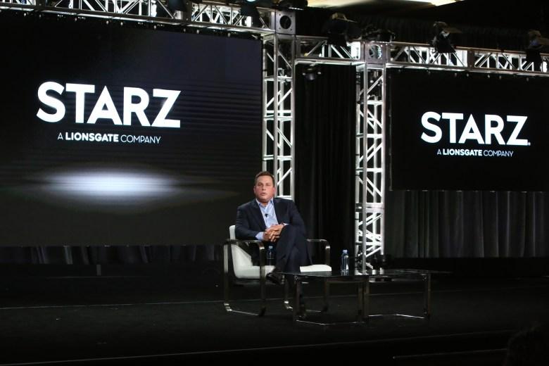 Jeffrey A. Hirsch, President and CEO of StarzExecutive Session, Starz TCA Winter Press Tour, Panels, Los Angeles, USA - 14 Jan 2020