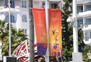 A general view of the Croisette during preparations for the 72nd international film festival, Cannes, southern France, . The Cannes film festival runs from May 14th until May 25th 20192019, Cannes, France - 13 May 2019
