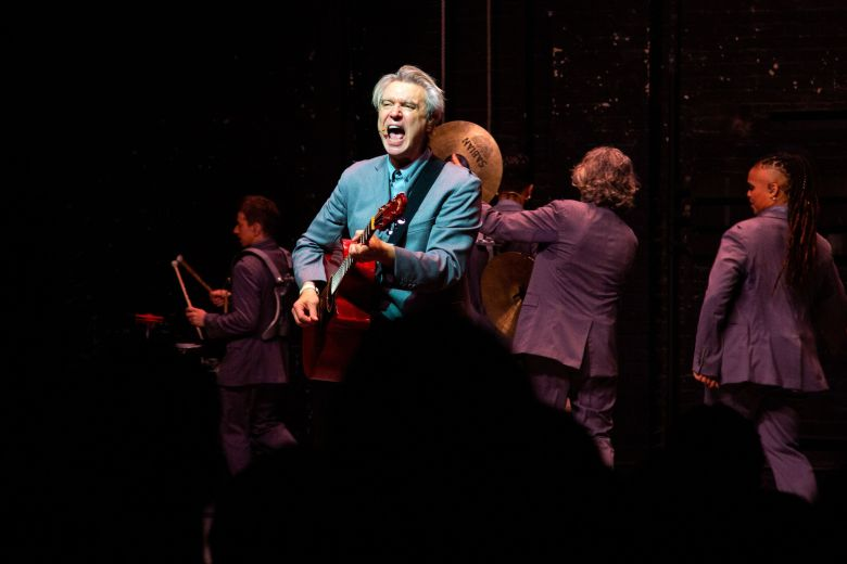 David Byrne and the company of American Utopia'American Utopia' play, Broadway Opening Night, New York - 20 Oct 2019