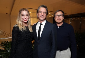 Margot Robbie, Writer Charles Randolph and David O RussellLionsgate BOMBSHELL special tastemaker film screening, Los Angeles, USA - 17 November 2019