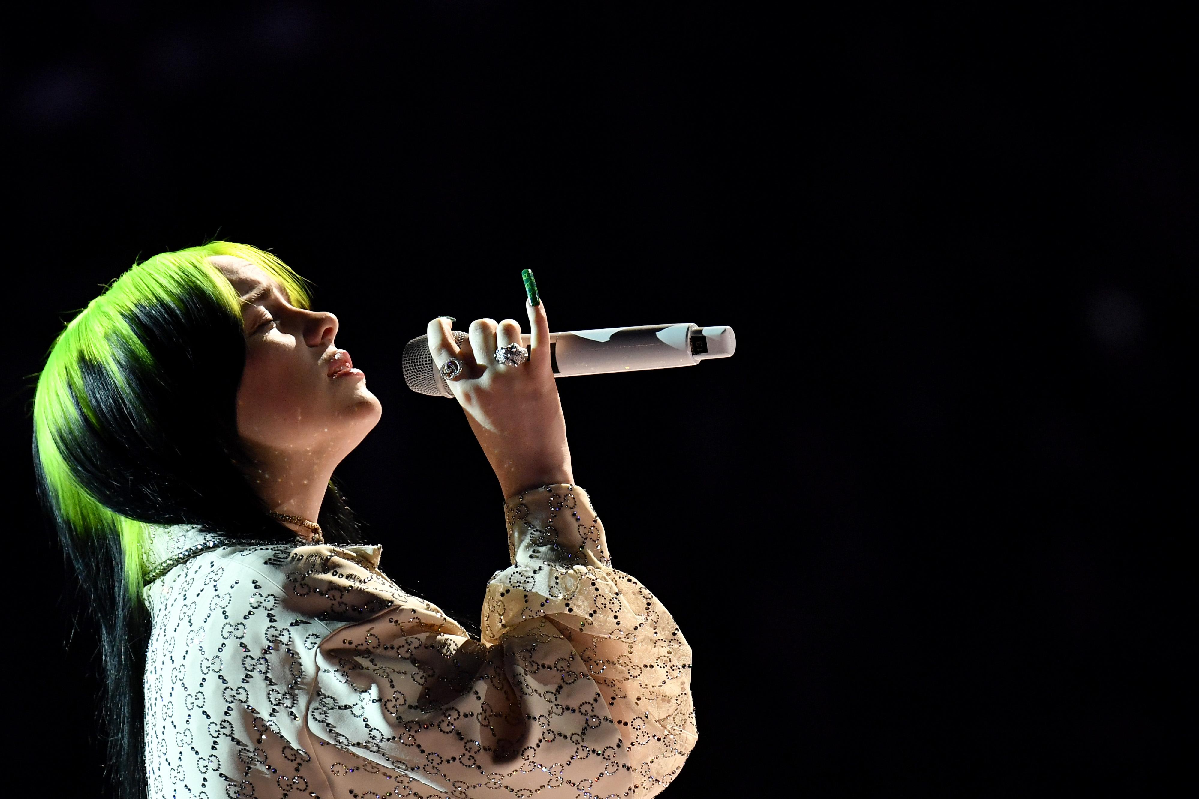 Billie Eilish62nd Annual Grammy Awards, Show, Los Angeles, USA - 26 Jan 2020