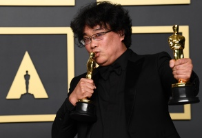 Bong Joon-Ho - Director and Best Picture - Parasite92nd Annual Academy Awards, Press Room, Los Angeles, USA - 09 Feb 2020