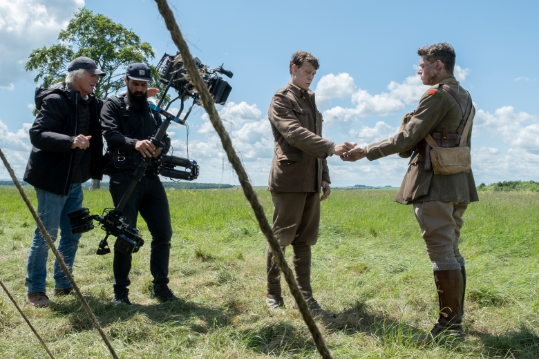 "Roger Deakins and Charlie Risek using the Trinity to shoot ""1917"""