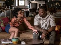 "Editorial use only. No book cover usage.Mandatory Credit: Photo by Kobal/Shutterstock (9335549g)Tiffany Boone, Jason Mitchell""The Chi"" (Season 1) TV Series - 2018"