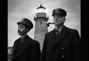 Aubrey Plaza Bill Murray The Lighthouse