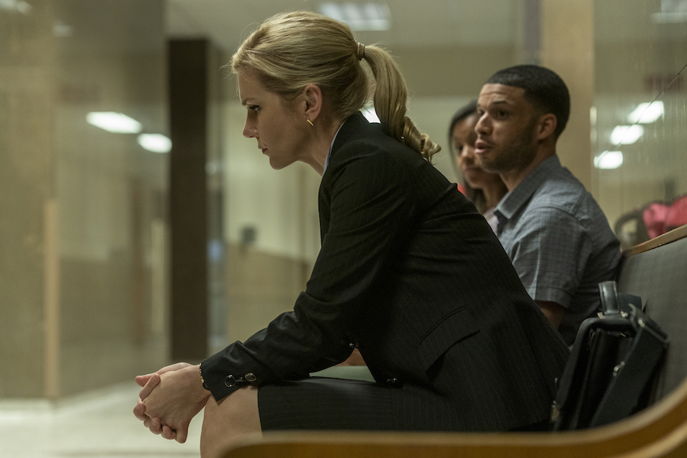 Rhea Seehorn as Kim Wexler- Better Call Saul _ Season 5, Episode 1 - Photo Credit: Warrick Page/AMC/Sony Pictures Television