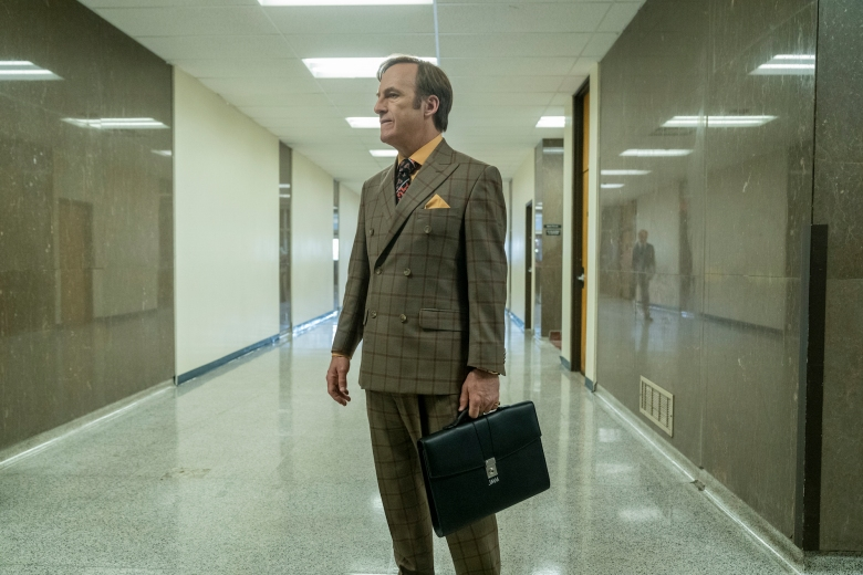 Bob Odenkirk as Jimmy McGill - Better Call Saul _ Season 5, Episode 2 - Photo Credit: Warrick Page/AMC/Sony Pictures Television