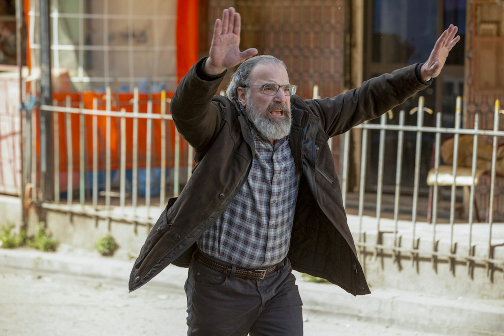 """Mandy Patinkin as Saul in HOMELAND, """"Catch & Release"""". Photo Credit: Sifeddine Elamine/SHOWTIME."""