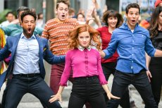 "ZOEY'S EXTRAORDINARY PLAYLIST -- ""Zoey's Extraordinary Best Friend"" Episode 102 -- Pictured: (l-r) Skylar Astin as Max; Jane Levy as Zoey Clarke; John Clarence Stewart as Simon -- (Photo by: Sergei Bachlakov/NBC)"