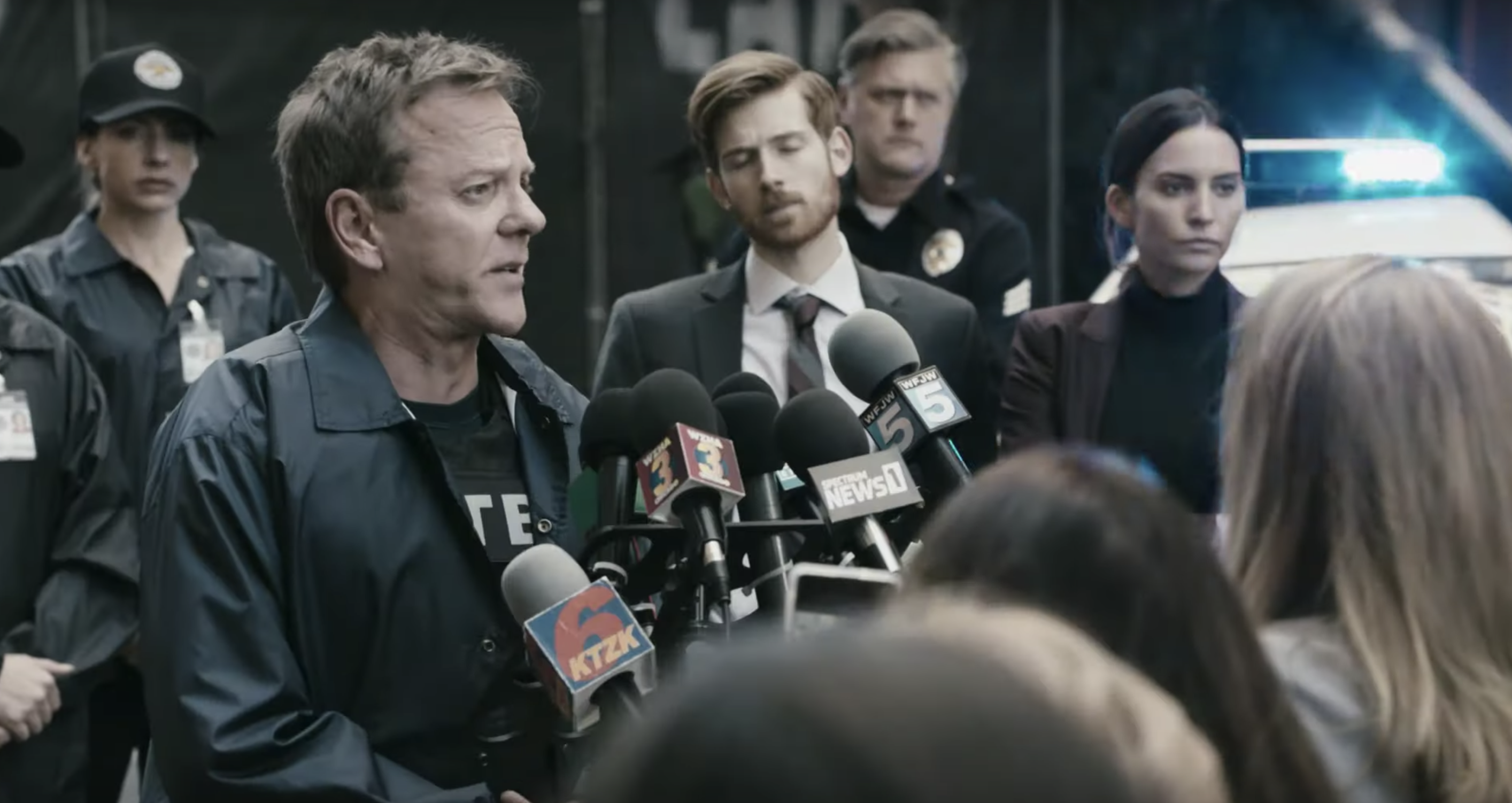 The Fugitive Teaser: Kiefer Sutherland Is a Stressed-Out Cop for Quibi | IndieWire