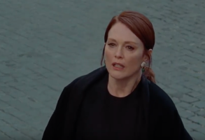 "Julianne Moore in ""The Staggering Girl"""