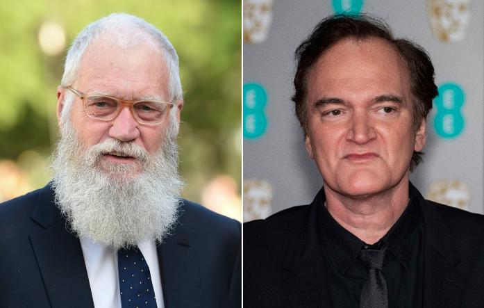 David Letterman and Quentin Tarantino