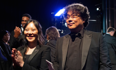 Sharon Choi and Bong Joon Ho