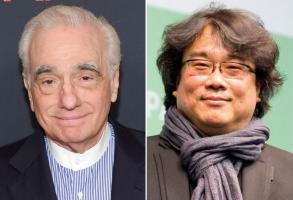 Martin Scorsese and Bong Joon Ho