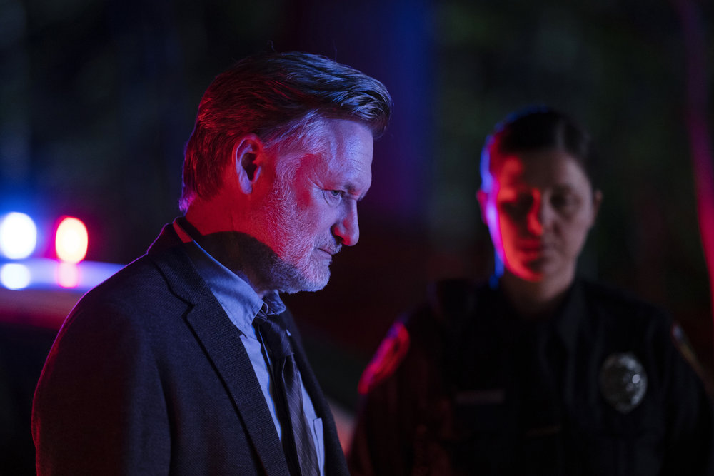 "THE SINNER -- ""Part I"" Episode 301 -- Pictured: Bill Pullman as Detective Lt. Harry Ambrose -- (Photo by: Peter Kramer/USA Network)"
