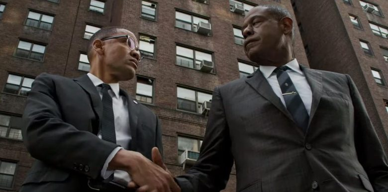 "Nigél Thatch and Forest Whitaker, ""Godfather of Harlem"""