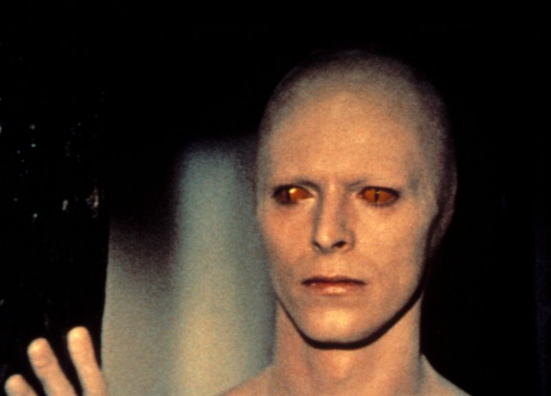 Editorial use only Mandatory Credit: Photo by Studiocanal/Shutterstock (594762o) 'The Man Who Fell to Earth' - David Bowie 'The Man Who Fell to Earth' Film - 1976