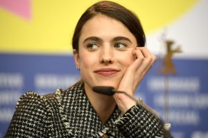 In Berlin, Margaret Qualley Has Star Power and the Germans Will Lecture If You're Late
