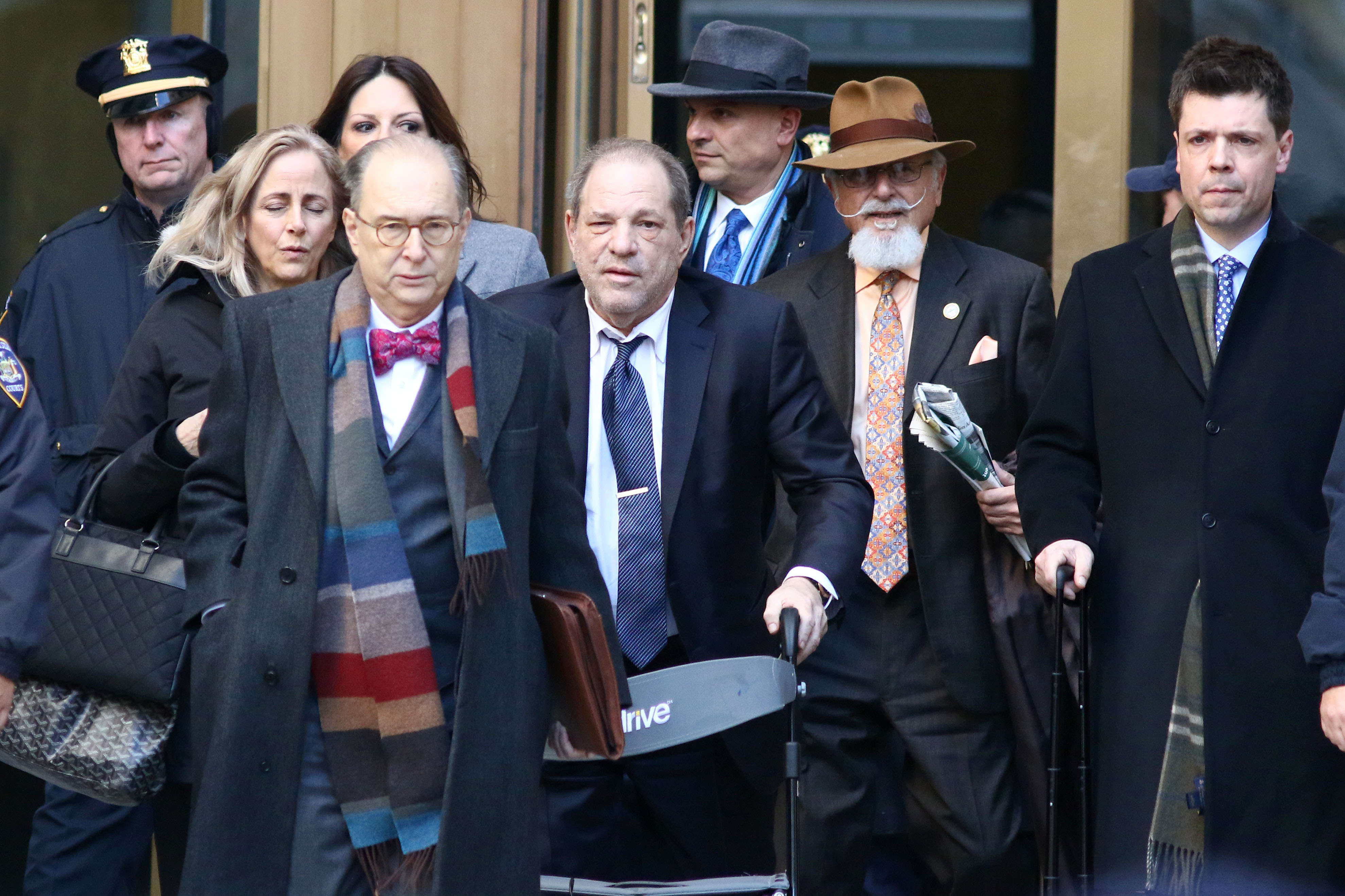 Harvey Weinstein Reacts To Rape Conviction I M Innocent Indiewire
