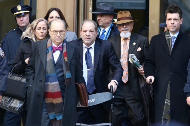 Harvey Weinstein Reacts to Rape Conviction: 'I'm Innocent, I'm Innocent'