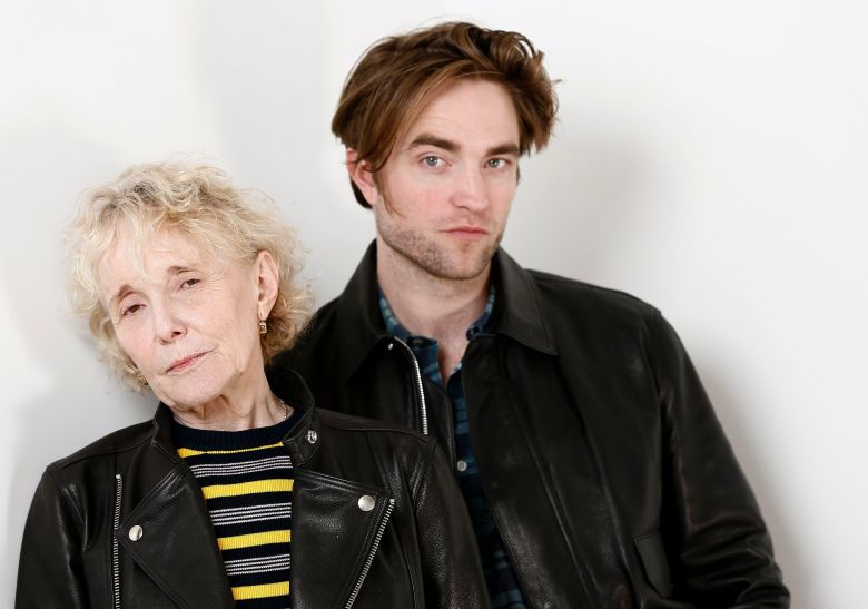 "Claire Denis, Robert Pattinson. This photo shows filmmaker Claire Denis, left, and actor Robert Pattinson posing for a portrait to promote their film, ""High Life"" in New York""High Life"" Portrait Session, New York, USA - 04 Apr 2019"