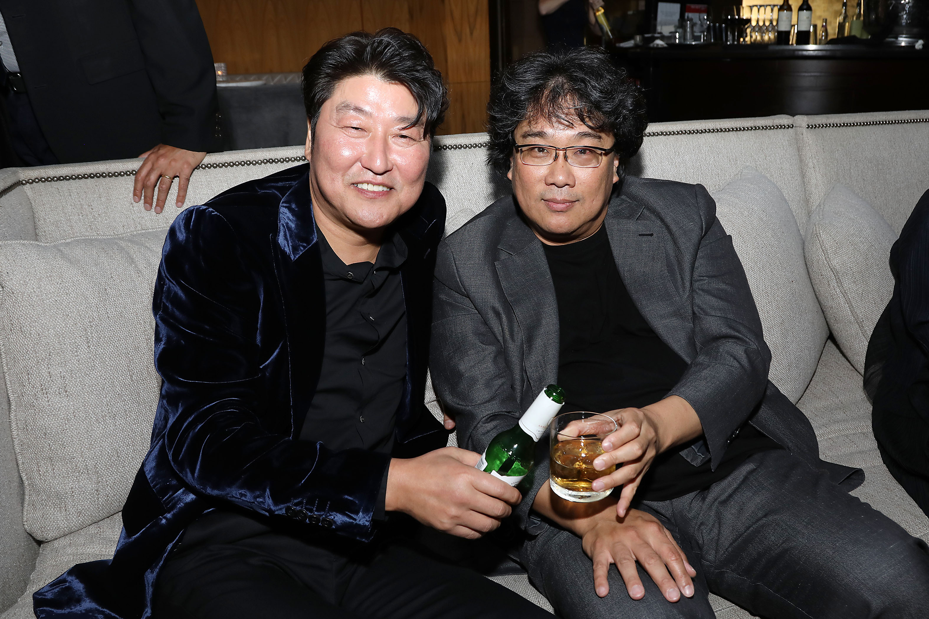 Song Kang Ho and Bong Joon Ho (Director)NEON's 'PARASITE' premiere, Afterparty, 57th New York Film Festival, USA - 08 Oct 2019
