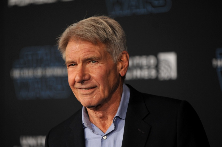 Harrison Ford Rise of Skywalker Premiere