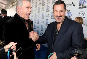 Ray Liotta and Adam Sandler35th Annual Film Independent Spirit Awards, Arrivals, Los Angeles, USA - 08 Feb 2020