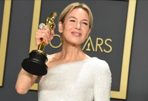 "Renee Zellweger, winner of the award for best performance by an actress in a leading role for ""Judy"", poses in the press room at the Oscars, at the Dolby Theatre in Los Angeles92nd Academy Awards, Los Angeles, USA - 09 Feb 2020"