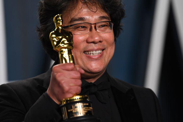 Bong Joon-HoVanity Fair Oscar Party, 도착, 로스 앤젤레스, 미국-2020 년 2 월 9 일