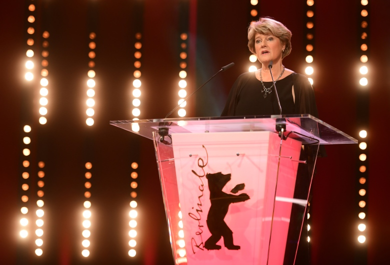 German Culture Minister Monika Gruetters speaks on stage during the Opening Ceremony of the 70th annual Berlin International Film Festival (Berlinale), in Berlin, Germany, 20 February 2020. The Berlinale runs from 20 February to 01 March 2020.Opening Ceremony - 70th Berlin Film Festival, Germany - 20 Feb 2020