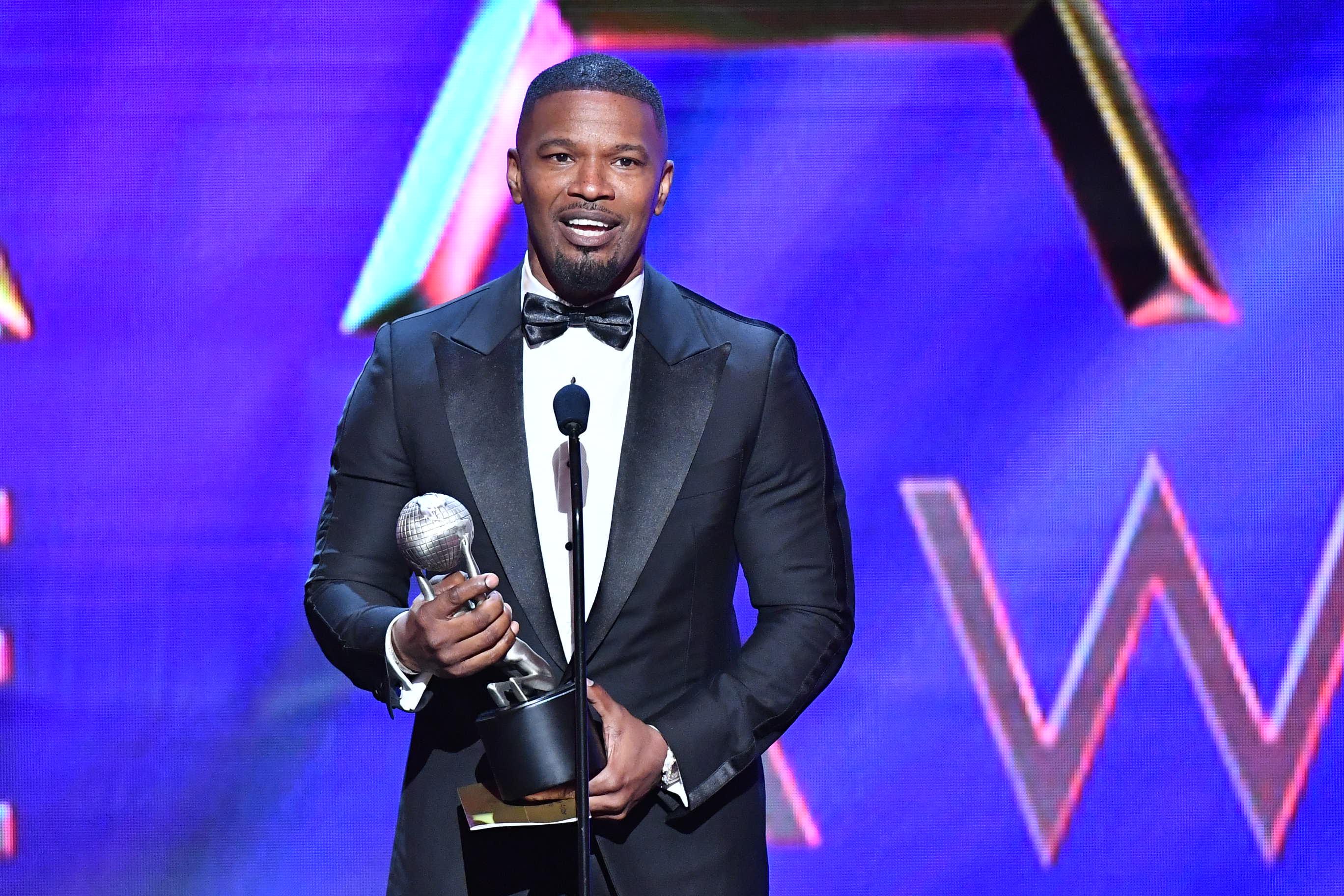 Jamie Foxx51st Annual NAACP Image Awards, Show, Pasadena Civic Auditorium, Los Angeles, USA - 22 Feb 2020