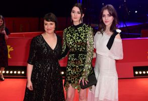 Eliza Hittman, Sidney Flanigan and Talia Ryder arrive for the premiere of 'Never Rarely Sometimes Always' during the 70th annual Berlin International Film Festival (Berlinale), in Berlin, Germany, 25 February 2020. The movie is presented in the Official Competition at the Berlinale that runs from 20 February to 01 March 2020.Never Rarely Sometimes Always - Premiere - 70th Berlin Film Festival, Germany - 25 Feb 2020
