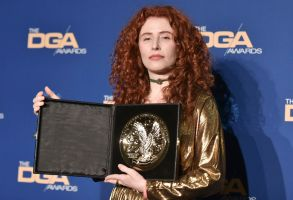 Alma Har'el poses in the press room at the 72nd Annual Directors Guild of America Awards at the Ritz-Carlton Hotel, in Los Angeles72nd Annual DGA Awards - Press Room, Los Angeles, USA - 25 Jan 2020
