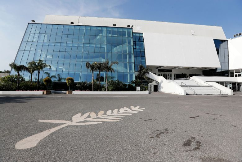 General view of the Palais des Festivals in Cannes, southern France, 22 March 2020. France is under lockdown in an attempt to stop the widespread of the SARS-CoV-2 coronavirus causing the Covid-19 disease.Coronavirus in France, Cannes - 22 Mar 2020
