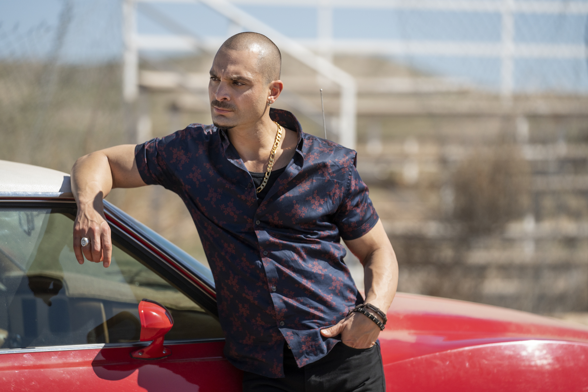 Michael Mando as Nacho Varga - Better Call Saul _ Season 5, Episode 3 - Photo Credit: Greg Lewis/AMC/Sony Pictures Television