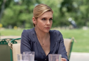 Rhea Seehorn as Kim Wexler - Better Call Saul _ Season 5, Episode 5 - Photo Credit: Greg Lewis/AMC/Sony Pictures Television