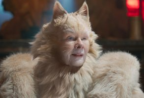 "Judi Dench as Old Deuteronomy in ""Cats,"" co-written and directed by Tom Hooper."