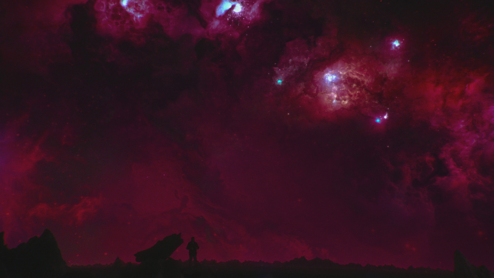 A flashback to an alien planet in the Milky Way 11 billion years ago, as host Neil deGrasse Tyson witnesses stars being born. COSMOS: POSSIBLE WORLDS premieres March 9, 2020 on National Geographic. (Cosmos Studios)