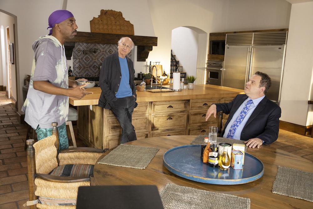 Curb Your Enthusiasm Season 10 JB Smoove Larry David Jeff Garlin