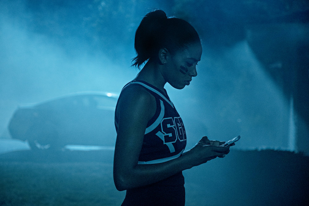 "DARE ME -- ""Shock & Awe"" Episode 110 -- Pictured: Herizen Guardiola as Addy Hanlon -- (Photo by: Rafy/USA Network)"
